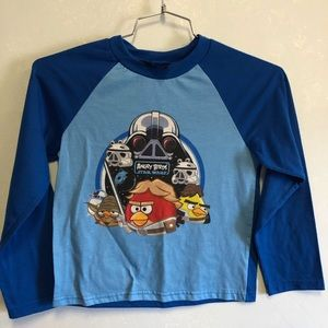 Other - Boys Angry Birds Pajama Shirt Size Small